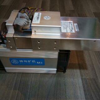 เครื่องขุด ASIC Whatsminer M3 V2 13TH with PSU
