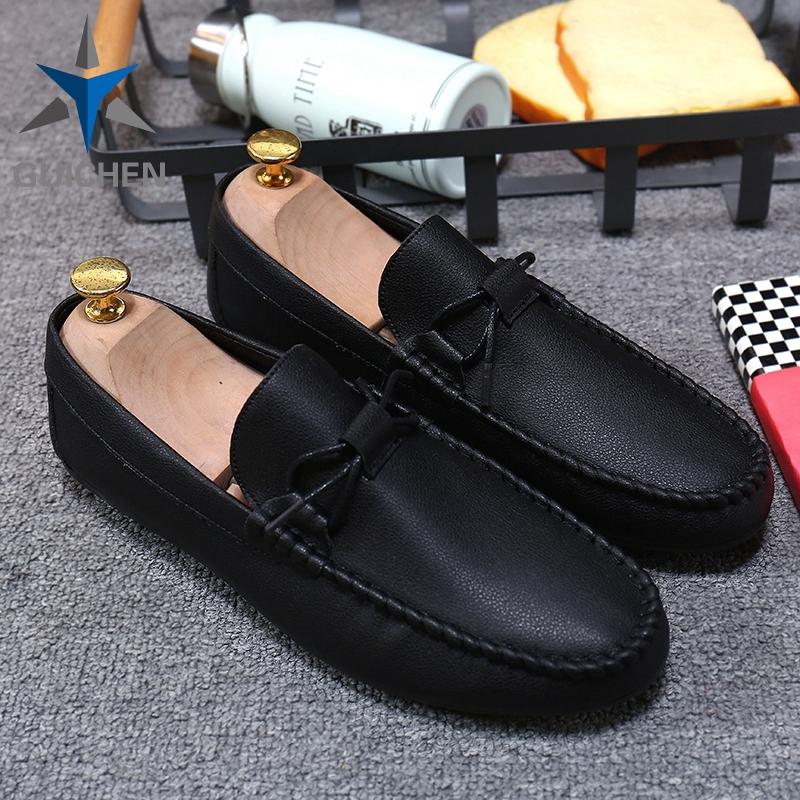 ⚡GC รองเท้าโลฟเฟอร์หนัง สีดำ สำหรับผู้ชาย รองเท้าคัชชู ผู้ชาย 39-44