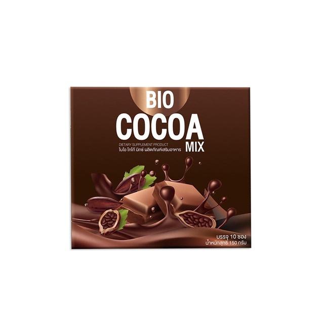 Bio Cocoa mix khunchan พร้อมส่ง 1 กล่อง บรรจุ 10ซอง