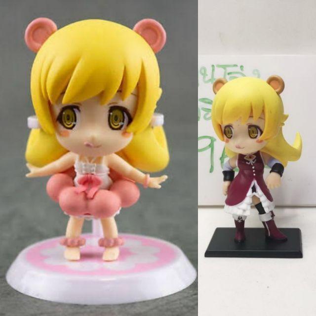 (แท้/มือหนึ่งไม่มีกล่อง) Chibi Kyun-Chara Bake monogatari Shinobu Oshino figure