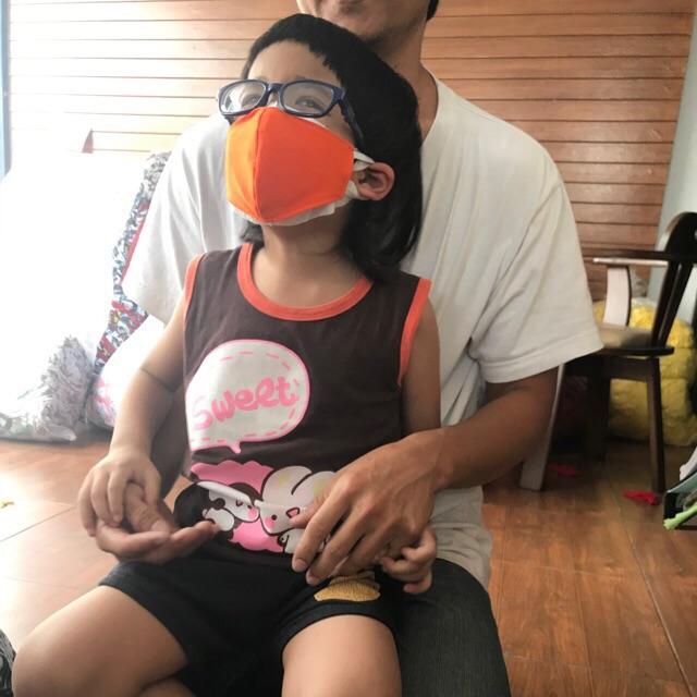 ผ้าปิดจมูกเด็ก  หน้ากากผ้า3Dเด็ก