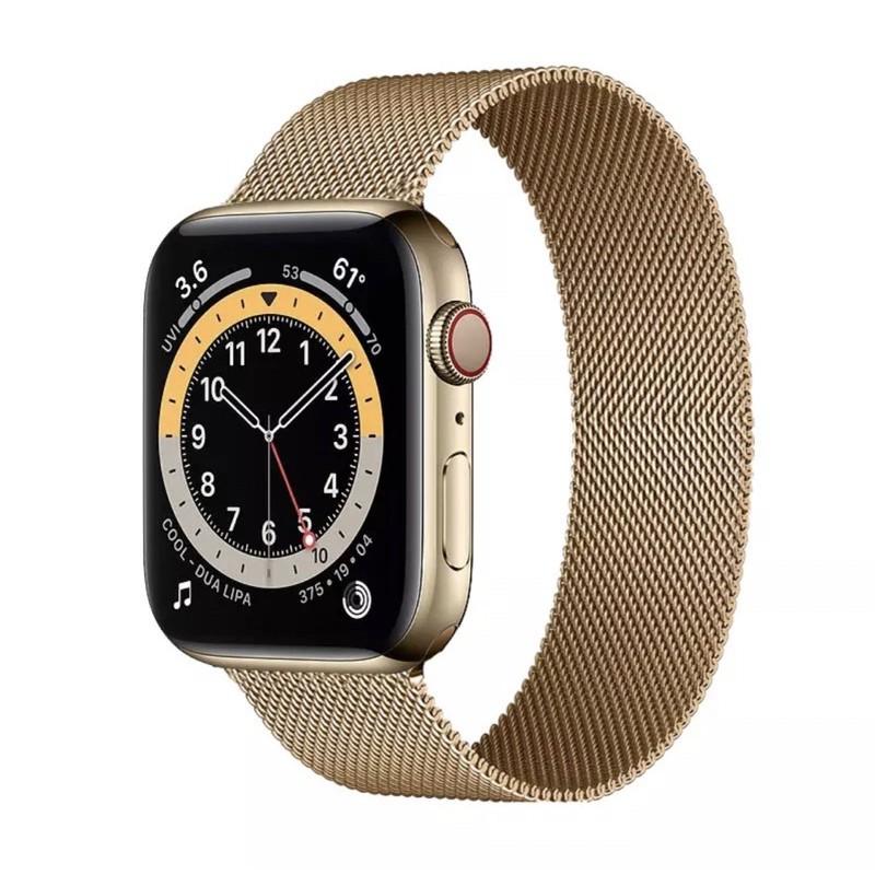 ✨ ✨ 🌻♟♣พร้อมส่งจากไทย สายStainless Steel สำหรับ AppleWatch มีให้เลือก 6 สี ใส่ได้ทั้ง series SE/6/5/4/3/2/1