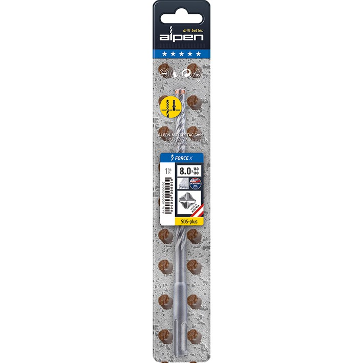 Bosch HSS-G Drill Bit 8.5mm Pack of 1