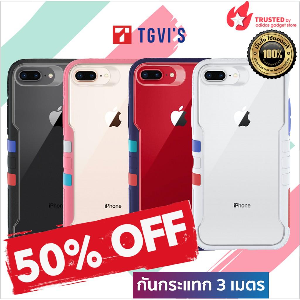 ของแท้💯 TGVI'S Vibrant Case for iPhone 6/7/8 Plus Series เคสกันกรแทก 3 เมตร