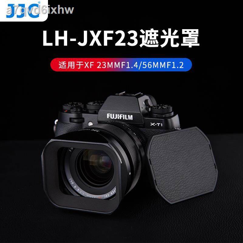 โล่ป้องกันแสง❧JJC เลนส์ฮูดเหมาะสำหรับเลนส์ Fuji XF23mmF1.4 XF56F1.2R APD โฟกัสคงที่ XT30 XH1 XT4 X-T4 กล้อง 62 มม.