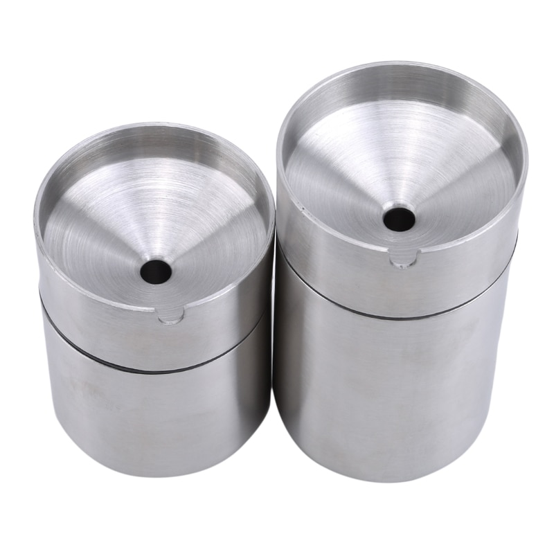 New Stainless Steel Car Ashtray Smokeless Auto Cigarette Holder Creative Windproof Business Gift Car Car With Lid Asht