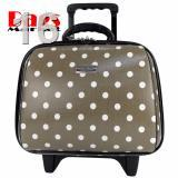 ☒Wheal กระเป๋าเดินทางล้อลากคุณภาพดี 14 นิ้ว 2 ล้อ Code F771914-3 B-Dot (Grey)