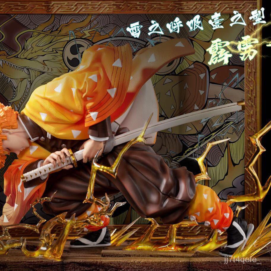 CUTE Demon Slayer figure modelDemon Slayer s Blade Handmade Kitchen Door Tanjiro Nidouzi My Wife Zenyi Domestic [3#¥%¥#