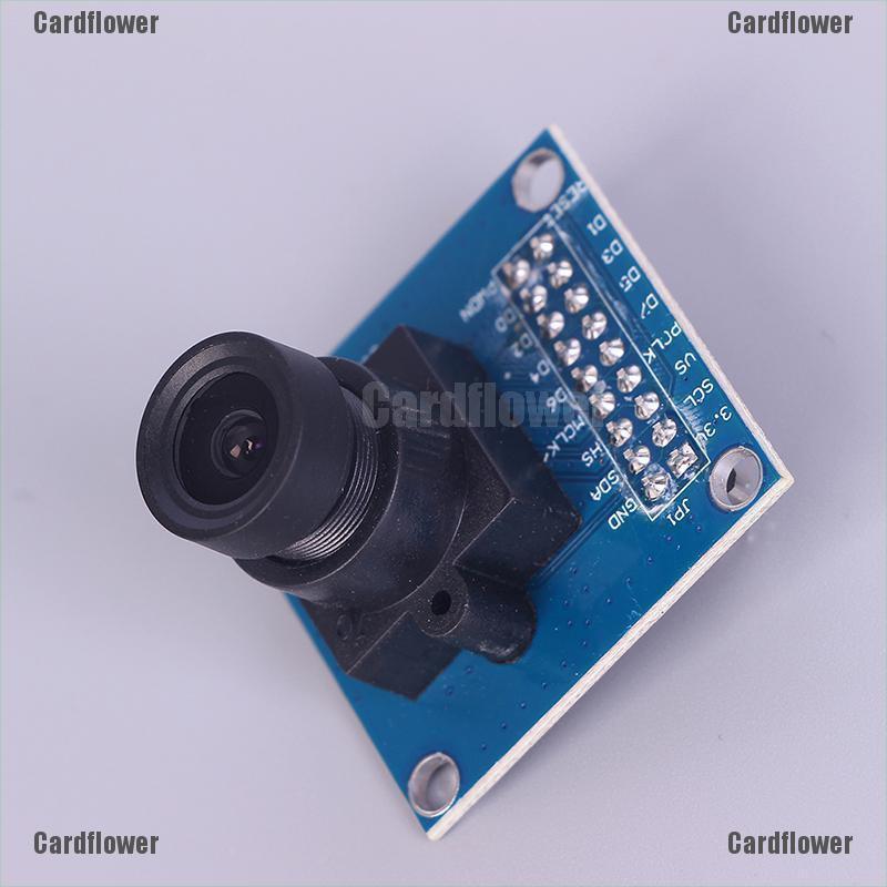 2PCS VGA OV7670 CMOS Camera Module Lens CMOS 640X480 SCCB W// I2C Interface