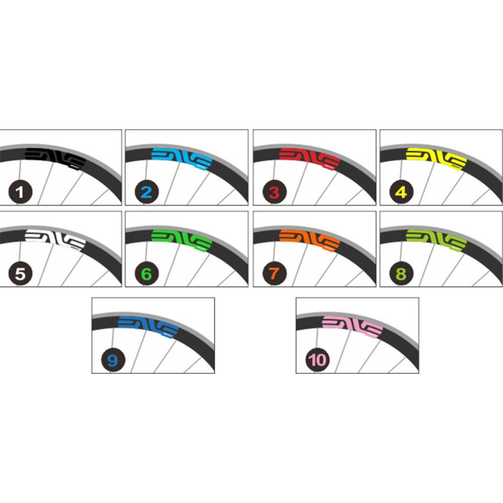 Road bike bicycle wheel rim stickers for SES Smart System race cycling decals