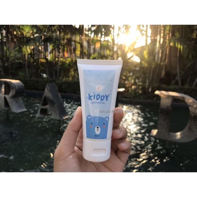 เจลแอลกอฮอล์ เจลล้างมือ50ml. Alcohol gel - Kiddy hand wash gel เด็กใช้ได้ พร้อมส่ง!!
