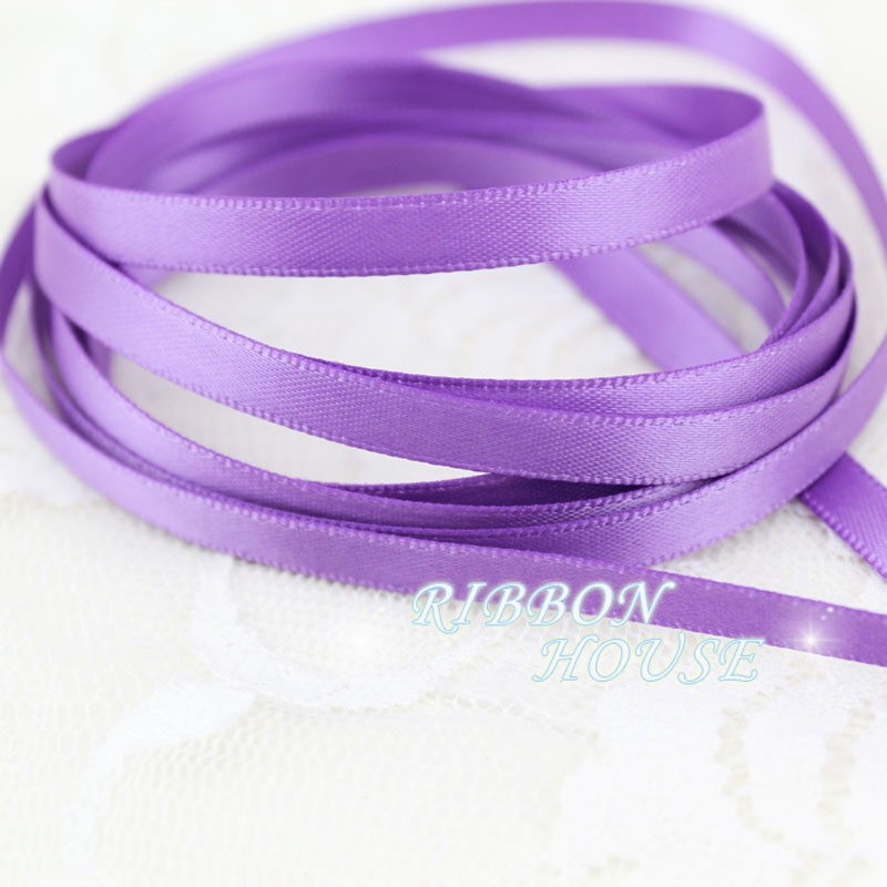 5m x 6mm Velvet Ribbon 77 White