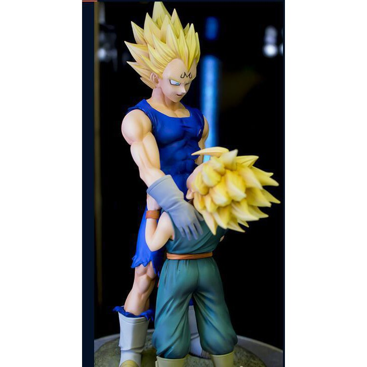 Dragon ball Vegeta Trunks Father and son farewell to the scene action figure