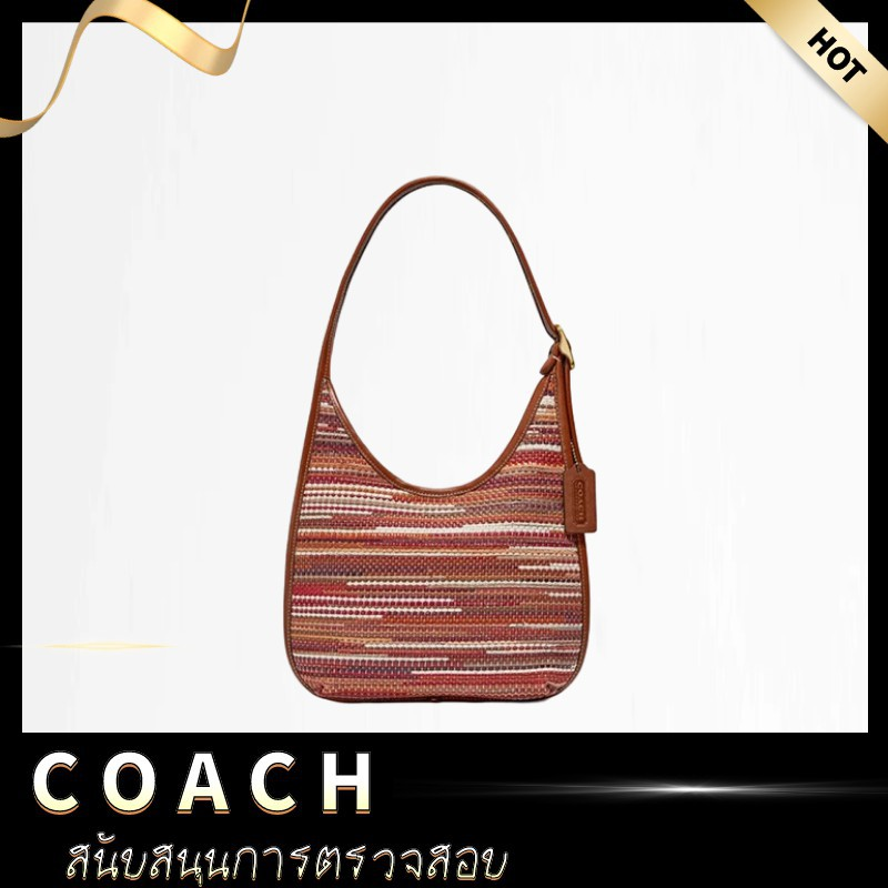 [ลดราคา KK & COACH] กระเป๋าผู้หญิง COACH กระเป๋าผ้ากระเป๋าสะพาย ERGOA