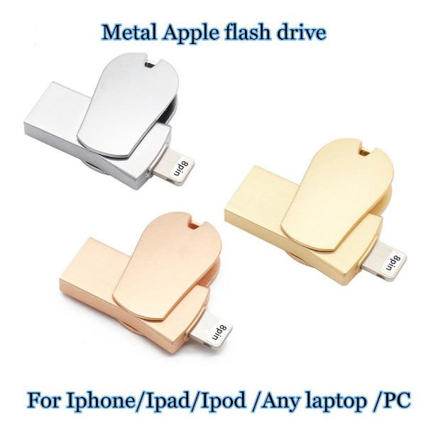 แฟลชไดรฟ์แฟลชไดรฟ์ 64 Gb Usb 3 . 0 I - Flash Drive Otg Pendrive Apple Iphone 6s 7plus