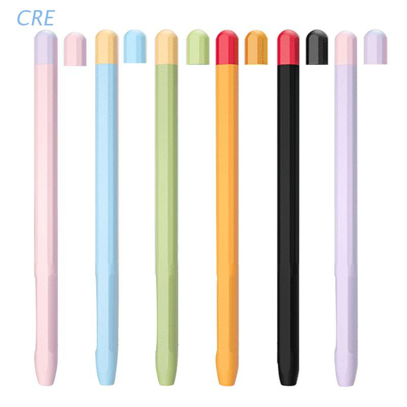 Cre เคสซิลิโคนสําหรับ Apple Pencil 2 Case