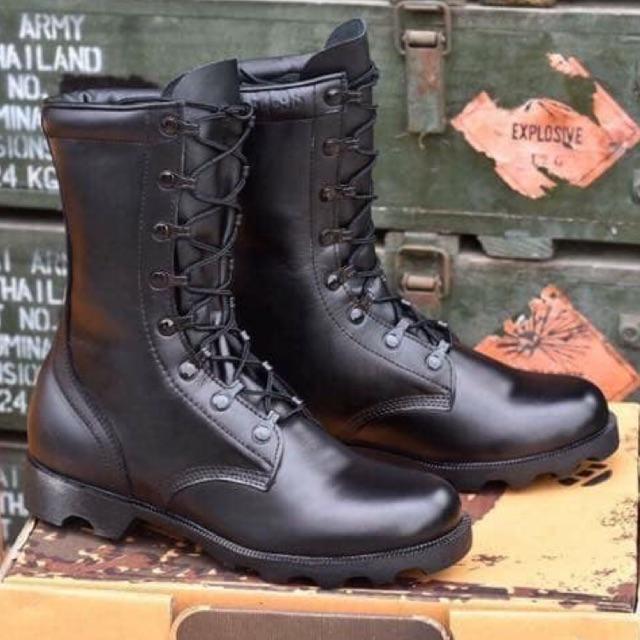 รองเท้าคอมแบท Combat  MS หนังวัวแท้