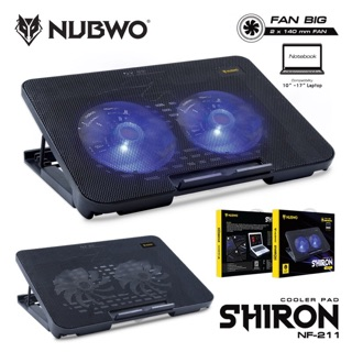 Review Nubwo cooling pad shiron NF-211