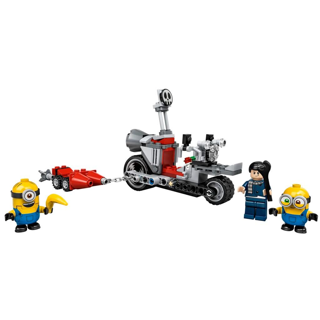 Despicable Daddy Minions Unstoppable Bike Chase ตัวต่อเลโก้ 75549 ของเล่นสําหรับเด็ก 81888