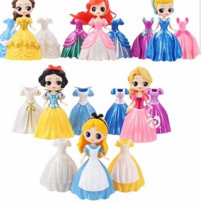 ของเล่นเสื้อผ้าตุ๊กตาเจ้าหญิง Frozen Sofia 6 Figure 18