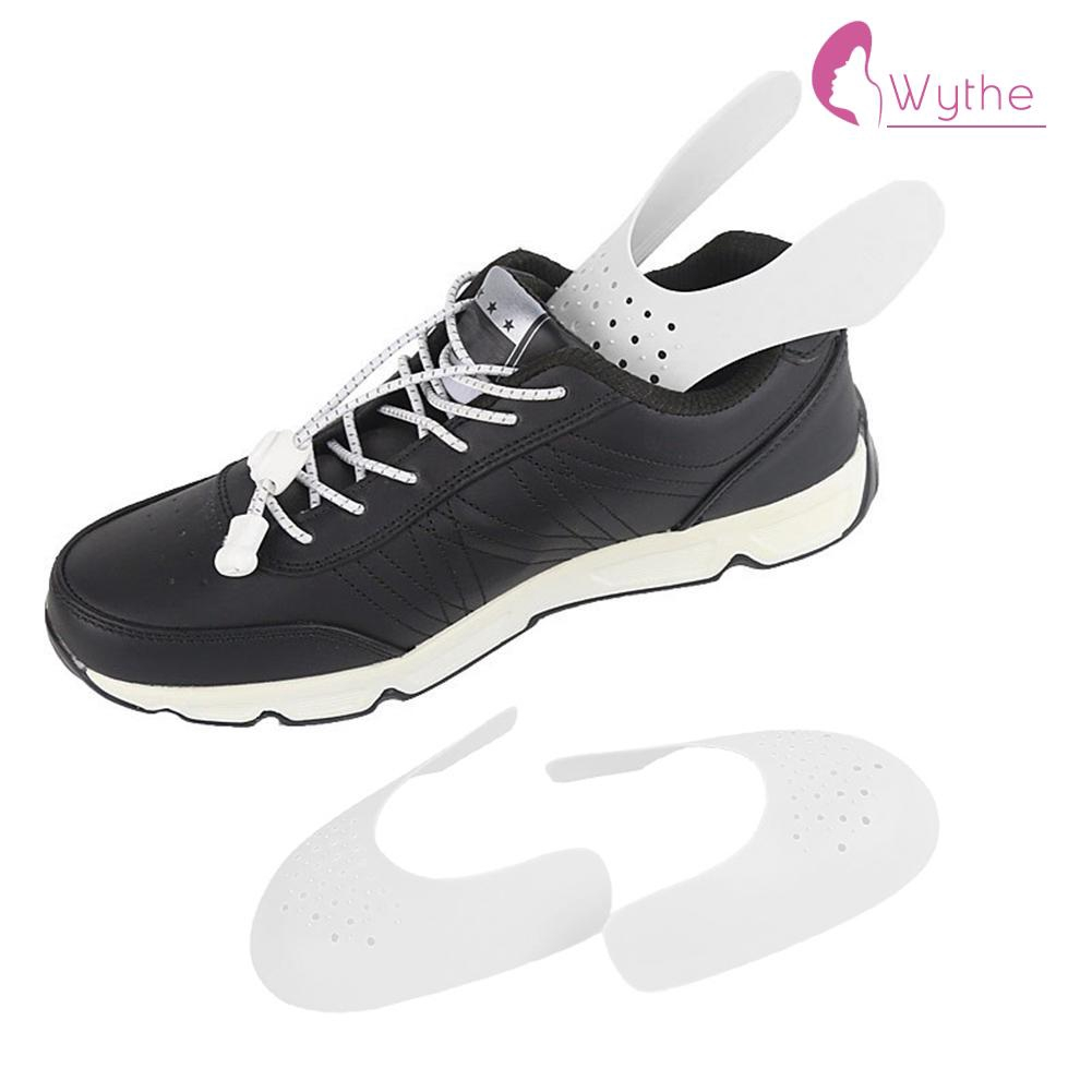 2 Pairs Shoes Shield for Sneaker Anti Crease Wrinkled Fold Shoe Support