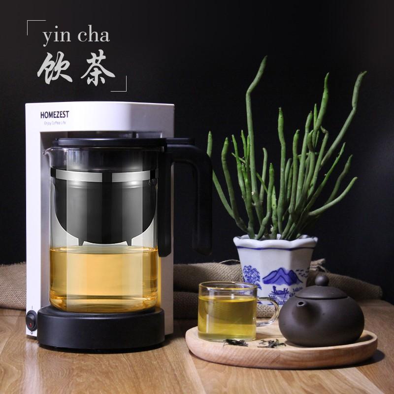 ❡☍เยอรมนี HOMEZEST เครื่องชงกาแฟอเมริกัน เครื่องทำกาแฟแบบหยดอัตโนมัติแบบชงด้วยมือขนาดเล็ก เครื่องชงชา