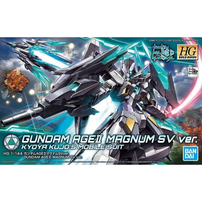 Hg 1 / 144 Hgbd Gundam Age Ii Magnum Sv Ver. Kyoya Kujo ' S ชุดอุปกรณ์เสริมโทรศัพท์มือถือ