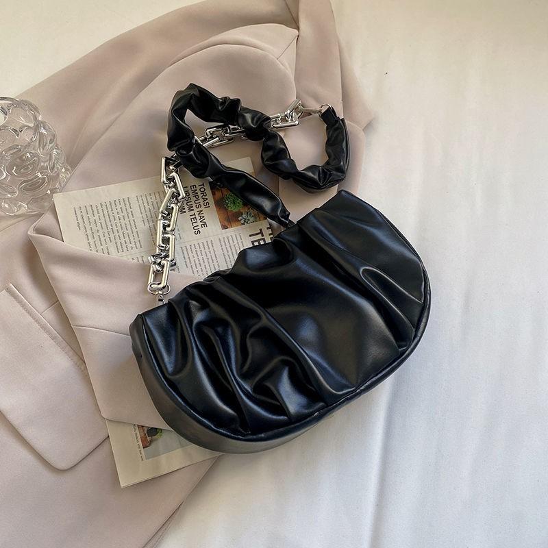 กระเป๋า?รุ่นใหม่ เท่สุดๆฉุดไม่อยู่?กระเป๋าสะพายข้างผู้หญิงแฟชั่นกระเป๋าจีบป่าคุณภาพสูงหญิง2021ใหม่การออกแบบขนาดเล็กกระเป.
