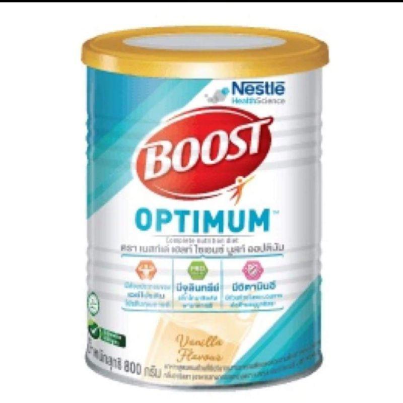 บูสท์ออพติมั่ม boost optimum อาหารทางการแพทย์ กระป๋อง800กรัม×6กระป๋อง