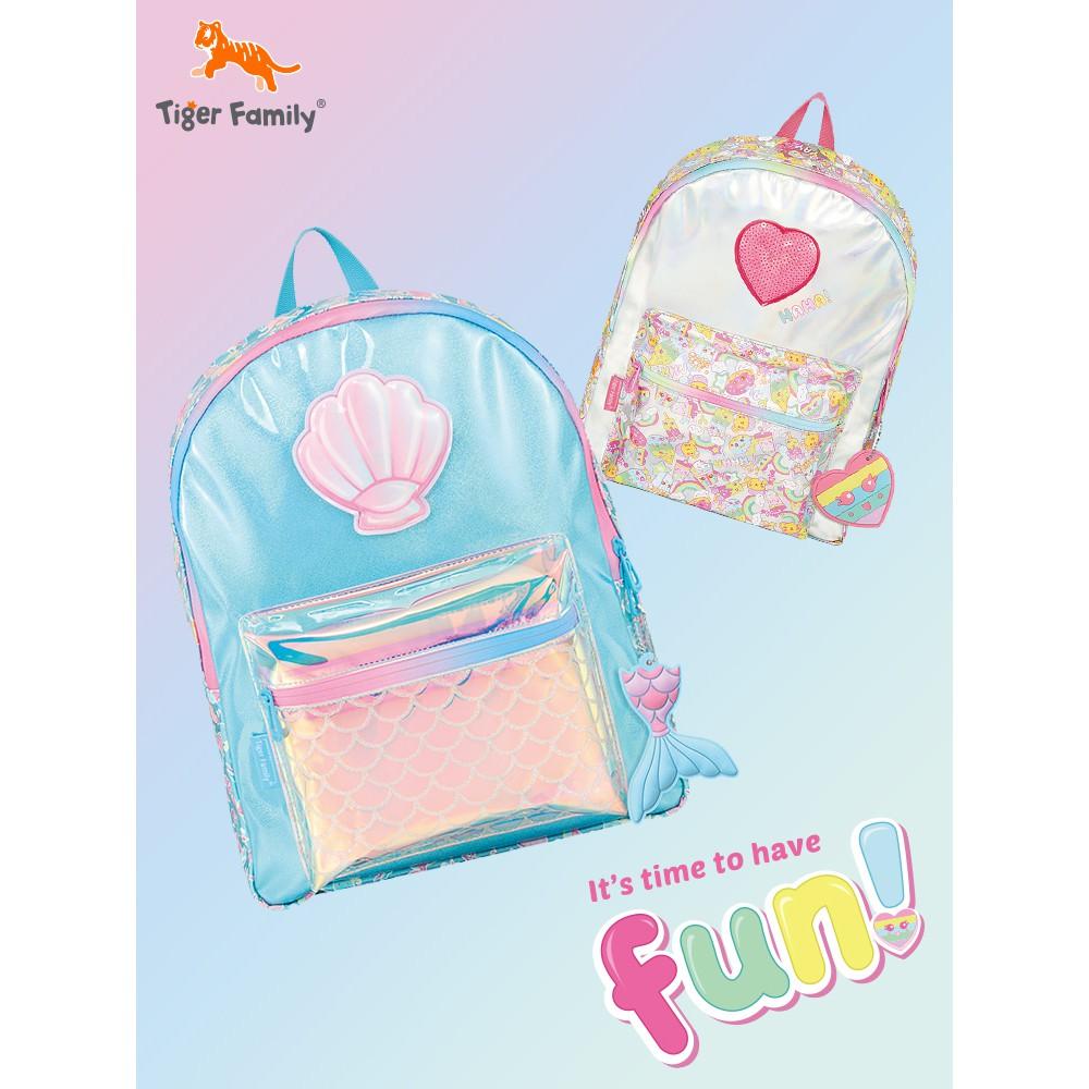 tigerfamilyนักเรียนเดินทางกระเป๋าเป้สะพายหลังขนาดเล็กเด็กน่ารักสร้างสรรค์ของขวัญของขวัญวันเกิด