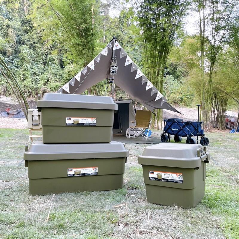 Trusco Trunk Cargo กล่องเก็บของ สี Olive Drab (OD)