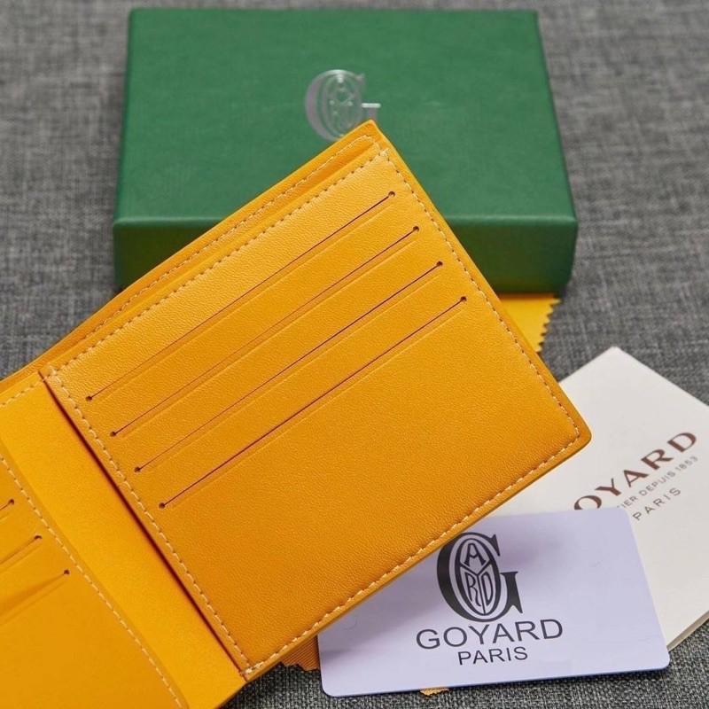 🔥Goyard wallet top ออริ 📌size 11 cm.  หนังแท้