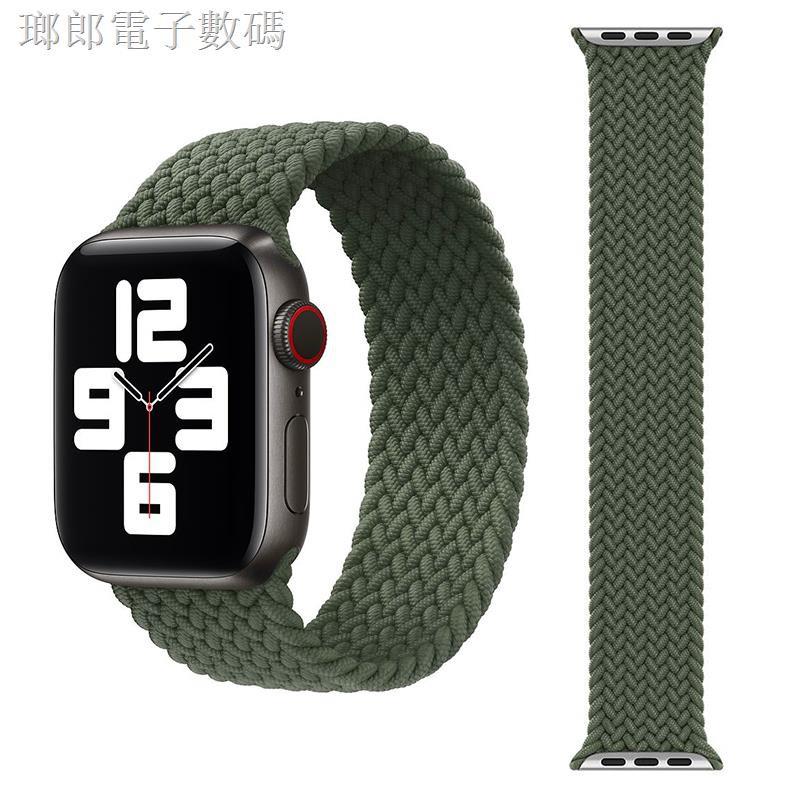 สายนาฬิกาข้อมือไนล่อนถักสําหรับ Applewatch 6 / Se Apple Watch