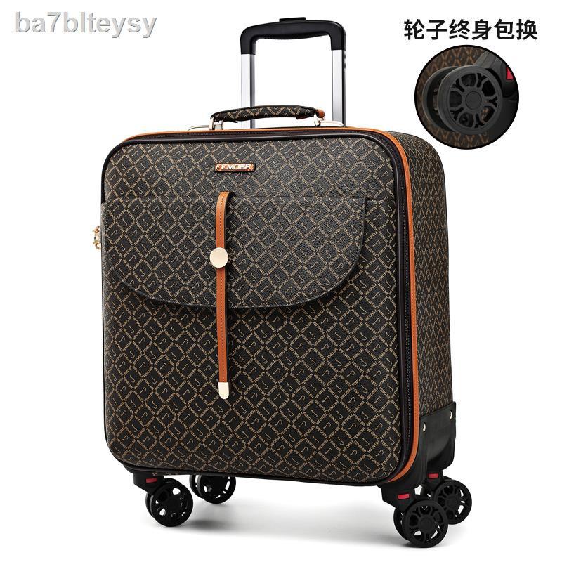สัมภาระ▲∈◙Light กระเป๋าเดินทางกระเป๋าเดินทาง กระเป๋าเดินทางใบเล็กผู้หญิง กระเป๋ารถเข็น กระเป๋าเดินทางขนาดเล็กใหม่ปี 2021
