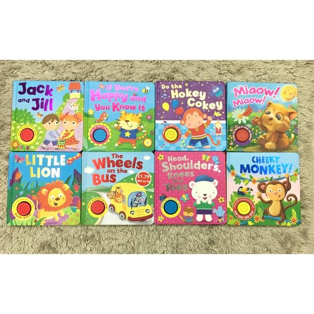 Board Books + Sound For Kids