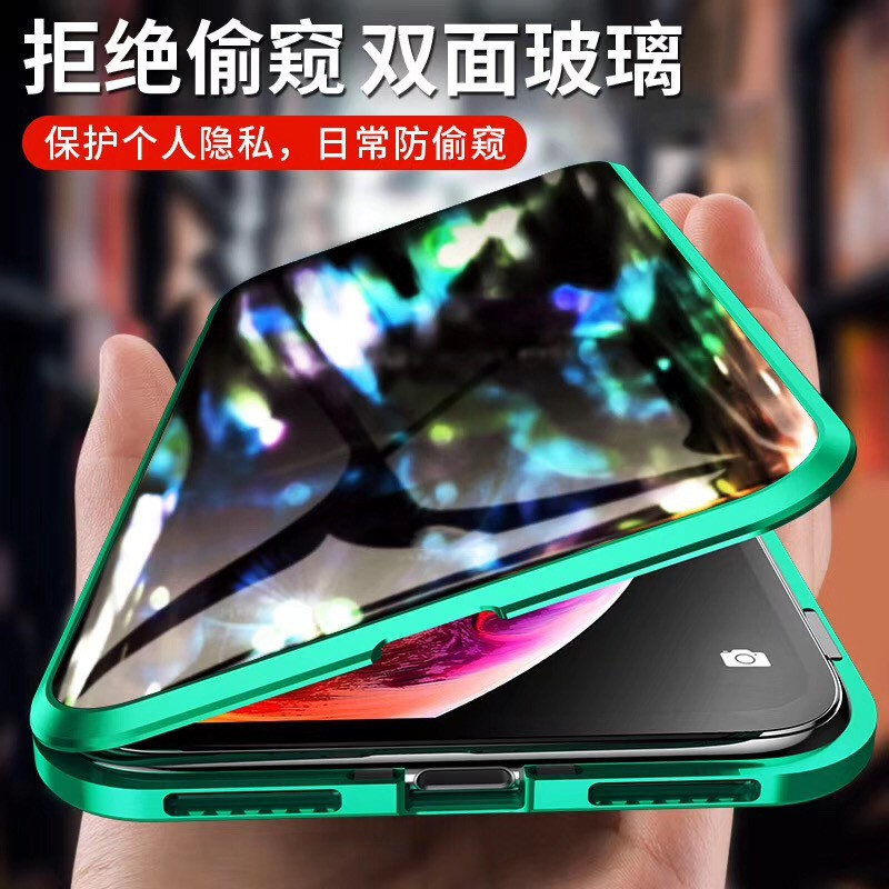 เคสโทรศัพท์มือถือแบบสองด้านสําหรับ Iphone 11 Pro Max Xr