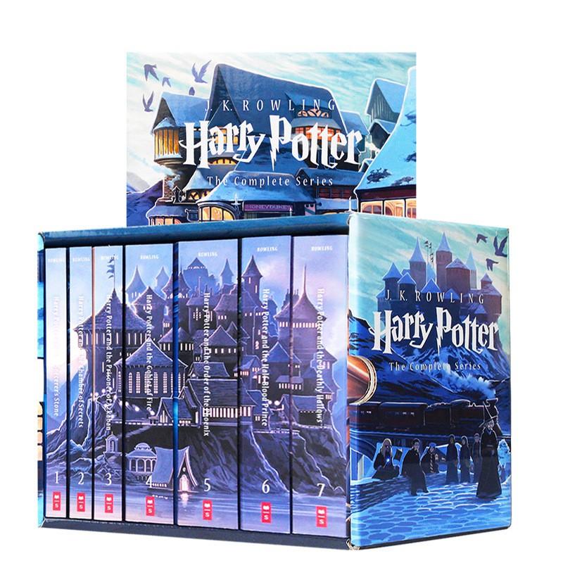 หนังสือชุดภาษาอังกฤษ Harry Potter 1-8หนังสือแฮร์รี่พอตเตอร์1-8Harry Potter English Series Books 1-8 ptkV KKpU