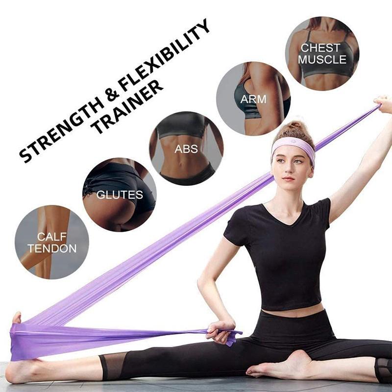 ยางยืด ออกกำลังกาย โยคะออกกำลังกาย การออกกำลังกาย สายยาง pull strap