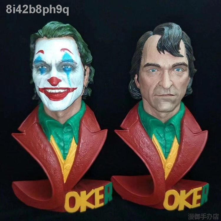 ข้อเสนอพิเศษ☁✱Joker bust of Arthur Fleck resin figure 18CM