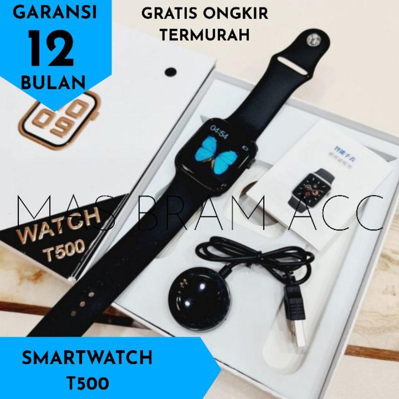 นาฬิกาข้อมือบลูทูธ T500 Applewatch Series 5