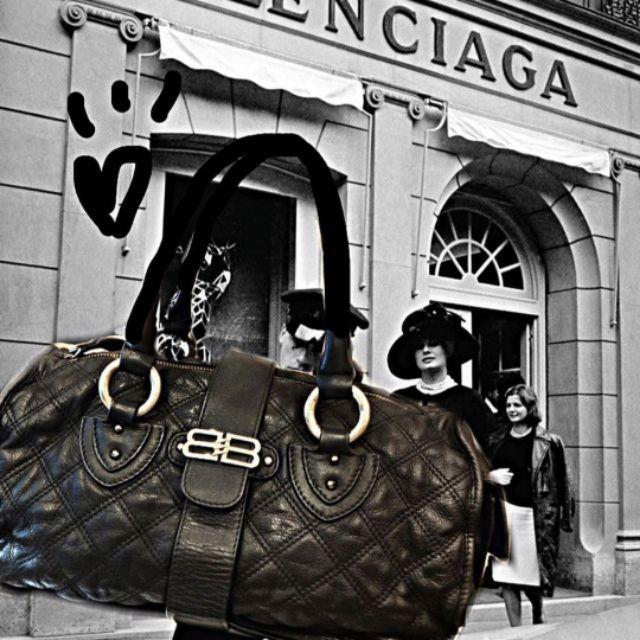 กระเป๋า Balenciaga classic กระเป๋าหนังแท้มือสองจากญี่ปุ่น