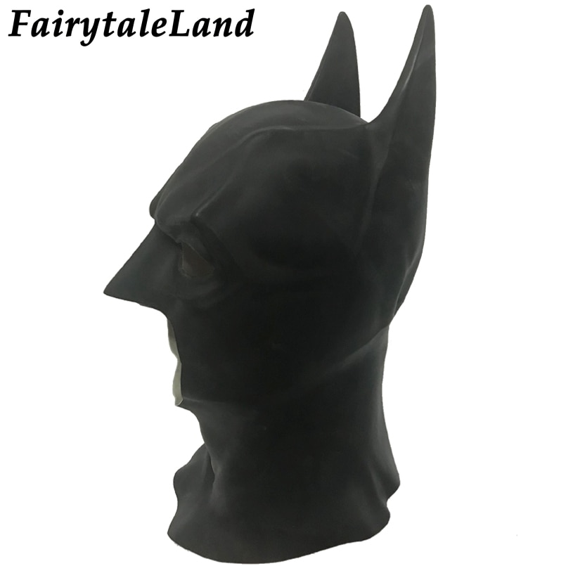 Batman Mask Halloween Cosplay Mask Superhero Bruce Wayne Justice League Batman cosplay Helmet Latex Mask
