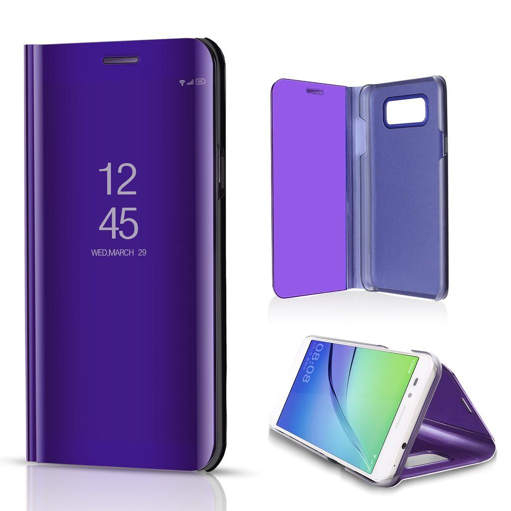เคสโทรศัพท์แบบพับเคสสำหรับ OPPO F7 Case Leather Smart Clear View Flip Stand Cover OPPO F 7 Mirror Case Phone Cases | Shopee Thailand