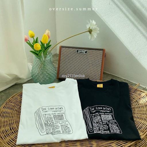 ราคาขายส่ง☜เสื้อยืด oversize - good news [oversize.summer]