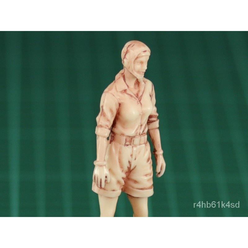 Resin Figure Kit 1/20 Ma.k Female Worker Garage Resin Kit#¥%¥# Y31q