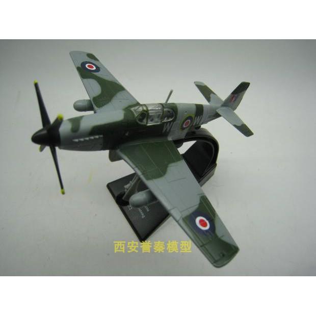 Amer 1/72 สงครามโลกครั้งที่สองกองทัพอากาศอังกฤษ P51MUSTANG Mustang เครื่องบินรบโลหะผสมรูปแบบผลิตภัณฑ์สำเร็จรูป