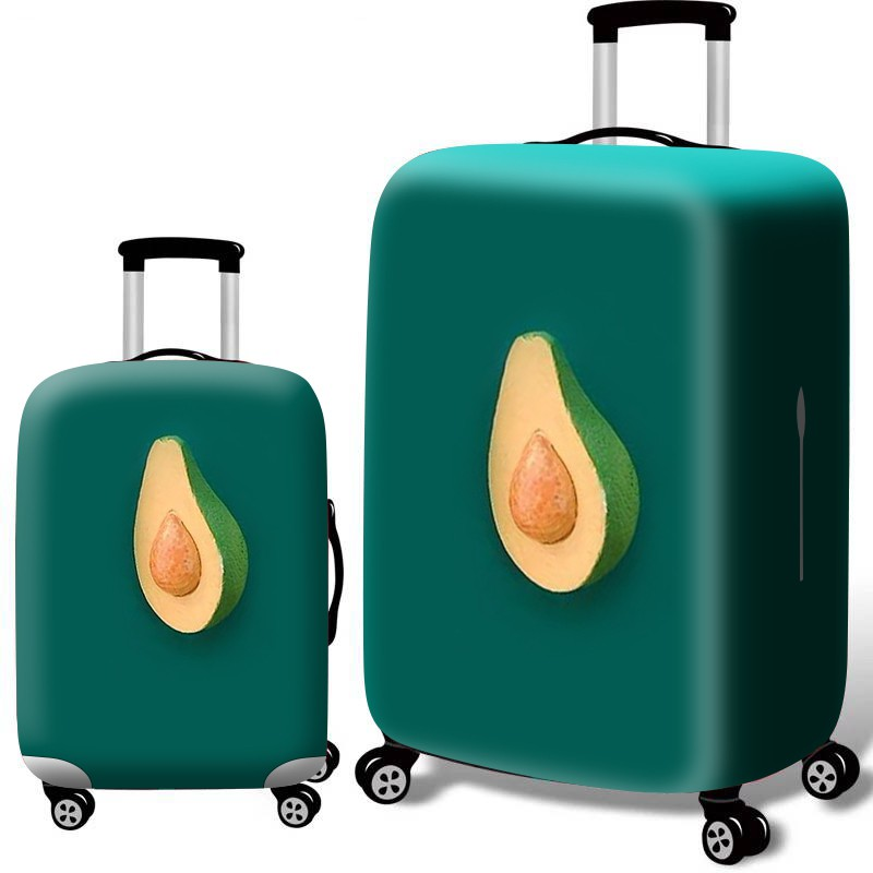 ผ้าคลุมกระเป๋าเดินทาง รถเข็นยางยืดหนาทนทานต่อการสึกหรอกระเป๋าเดินทางกระเป๋าเดินทางฝาครอบป้องกัน 20 24 28 30 นิ้วสากล