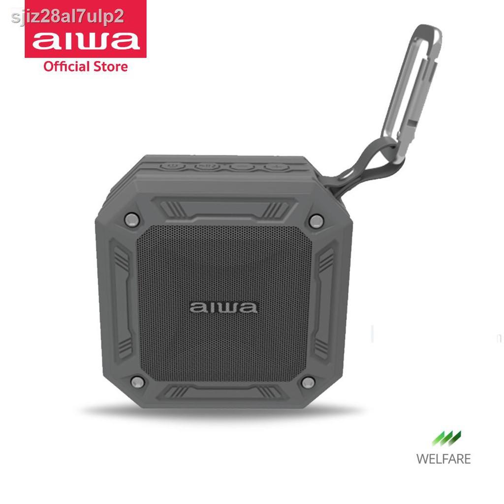 ลำโพงอัจฉริยะ、หม้อน้ำระบายความร้อนด้วยน้ำ cpu、เคสป้องกันชุดหูฟังบลูทู ธ◆✚❏AIWA SB-X80 Mini Bluetooth Speaker ลำโพงบล