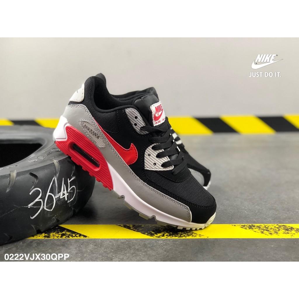 NIKE AIR MAX 90 OG กีฬารองเท้าลำลองรองเท้ากีฬารองเท้าผู้ชายและรองเท้าผู้หญิงเพิ่ม Walk