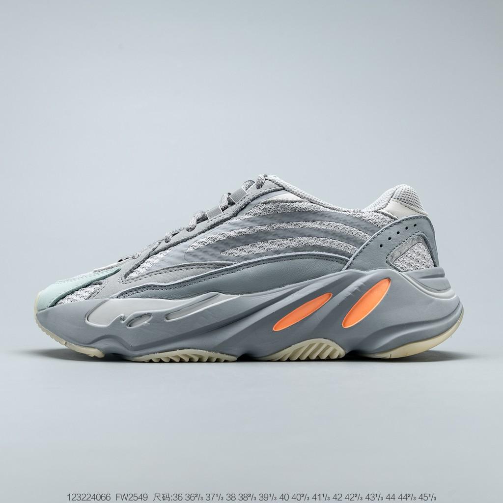 (Adidas) Yeezy Boost 700 V2 รองเท้าผู้ชายรองเท้าผ้าใบผู้หญิง AMD ลดล้างสต๊อกลดราคาสินค้าแท้กลางแจ้ง
